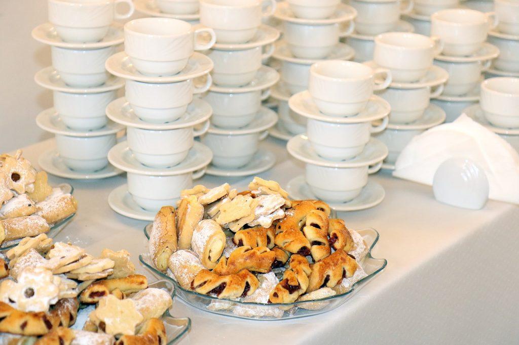cakes, treat, teacup